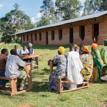 Une main forte qu'apportent les microcrédits communautaire à Butezi (Ruyigi)
