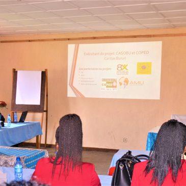 Atelier d'échange : Au cœur des objectifs du projet « Eau, source de vie et développement à Bururi »