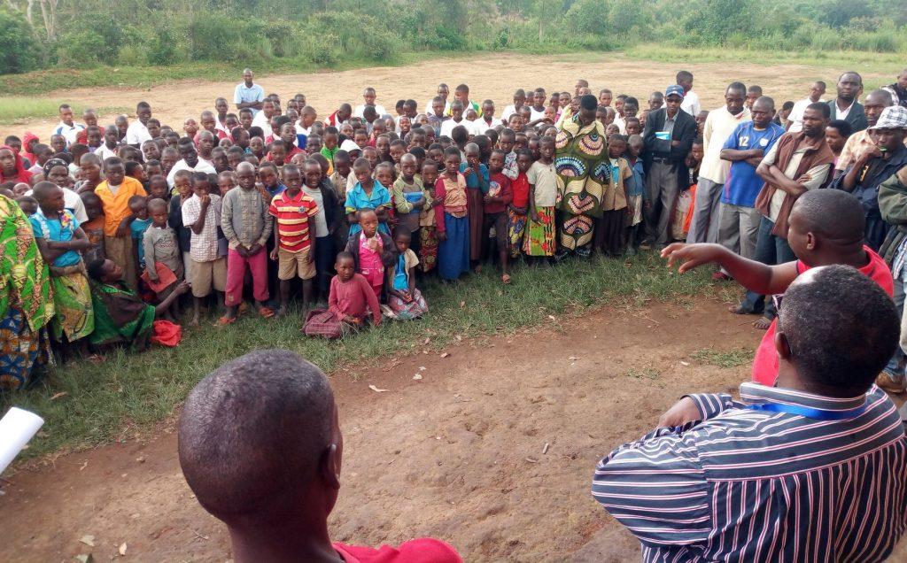 Sensibilisation de la communauté à l'Ecofo Nombe